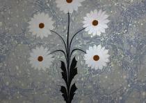 floral ebru