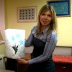 "<!--:RU-->Эбру с Наталией Драгуновой на телеканале ""Art City"", Киев<!--:-->"